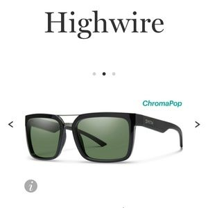 Nwt SMITH Highwire black sunglasses